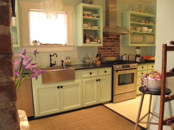 Country Cottage Design: Nice Kitchen Country Cottage Design Ideas – HouseInteriors