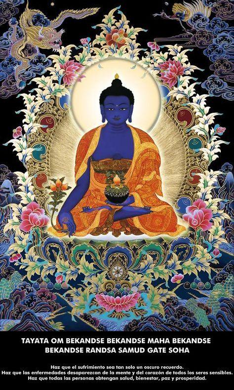 desaprender: Mantra del Buda de la Medicina