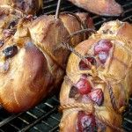 Smoked & Stuffed Apple Cherry Chicken Breast