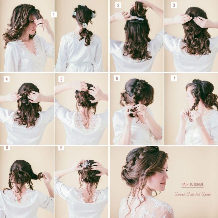 27+ Tuto coiffure mariage des idees