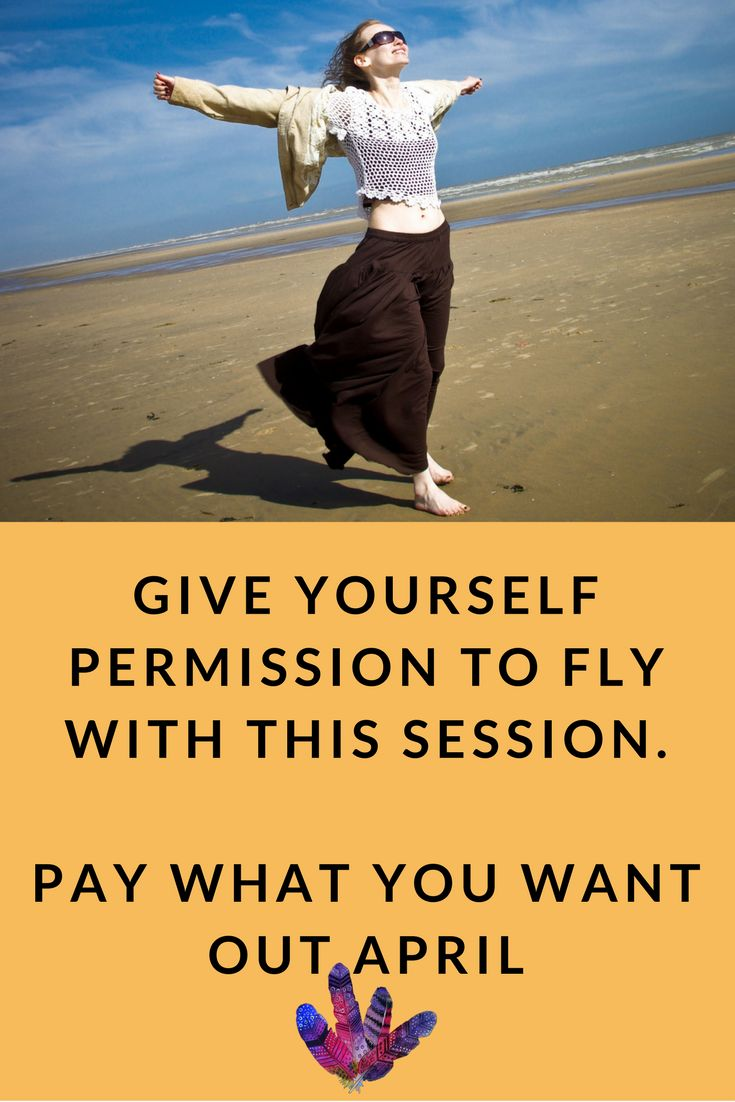 Time to stop sacrificing your joy. Book your session now http://lindaursin.net/permission-to-fly/