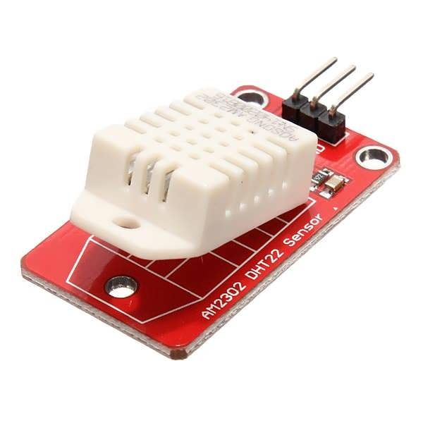 AM2302 DHT22 Temperature And Humidity Sensor Module For Arduino SCM Feature: AM2302 Humicap digital temperature and humidity module is a digital output signal containing a calibrated temperature and humidity combined sensor. It uses a dedicated digital modules capture technology and the...