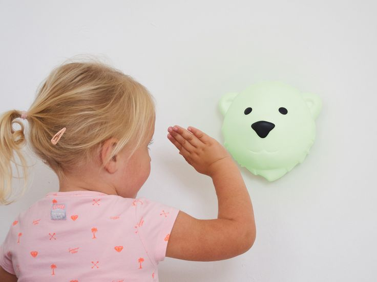 Nachtlampje Nightlight Kids interior kids room Scandinavian polar bear  nanuk björn ijsbeer Night light