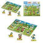 Melissa & Doug Disney Mickey Mouse Clubhouse Wooden Chunky Puzzle Toys (8 pcs)