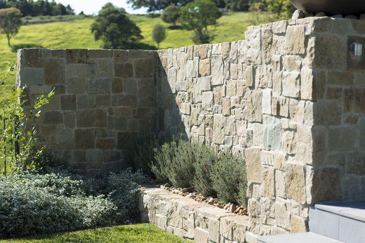 Sandstone surrounding wall