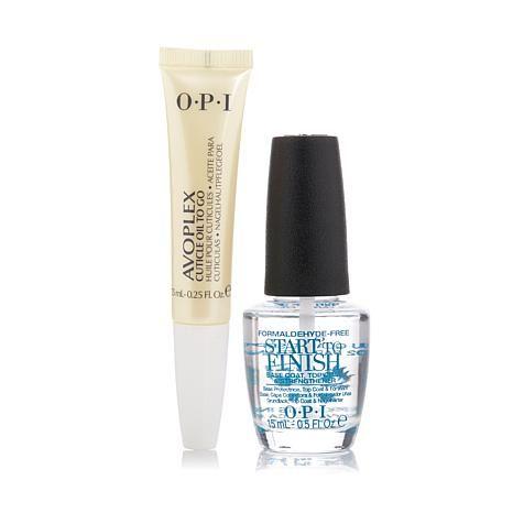 OPI Avoplex Cuticle Oil and Start-To-Finish Base Coat Set - 7979425   HSN