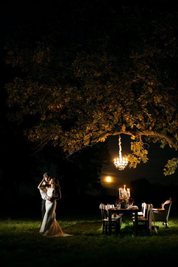 Evening Farm Wedding