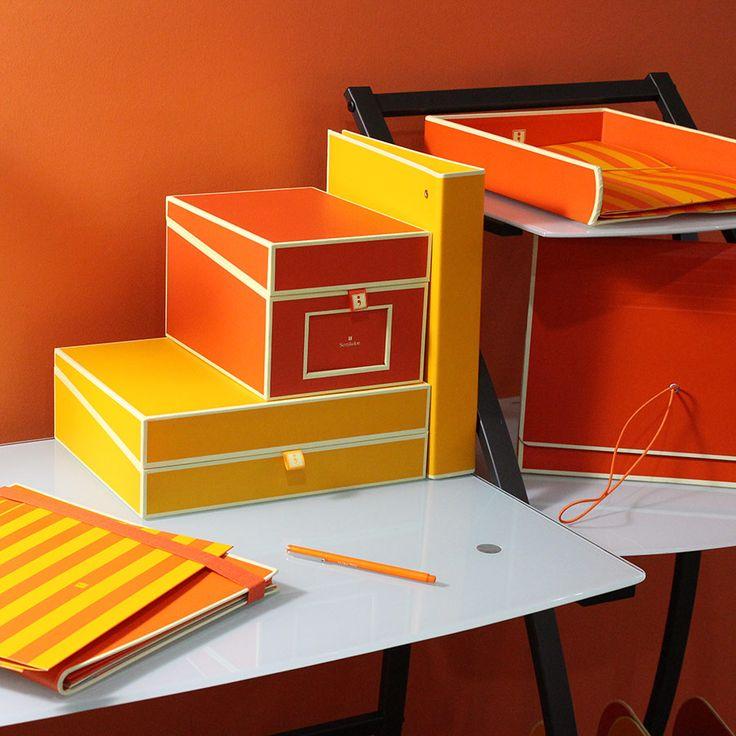 Color Crush: Orange Office Supplies   Urban Girl Blog