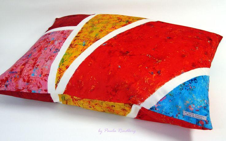 "Cushion by Paula Rindborg - Collection ""Abstract Feelings I"""