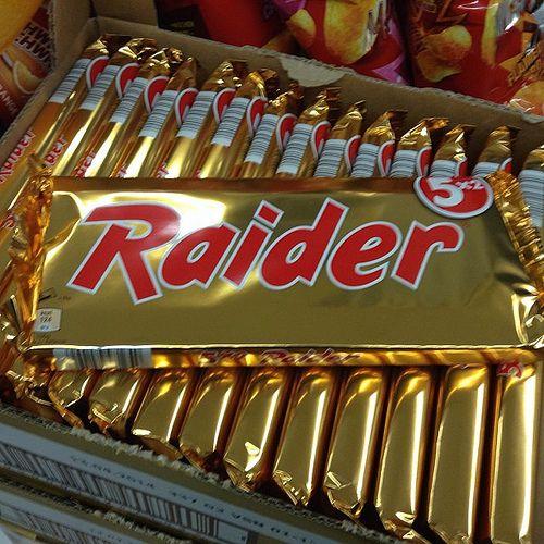 Raider voordat het Twix ging heten #chocolade