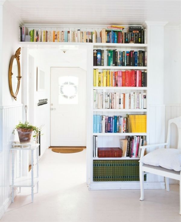 fabelhaft Bücherregale stuhl weiß