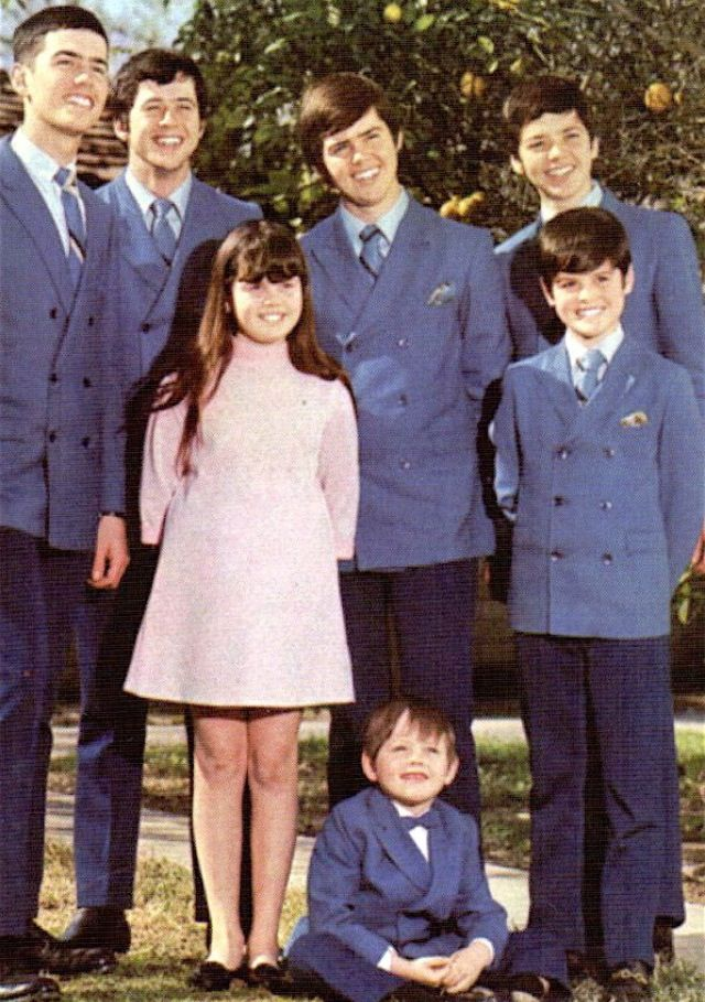 The Osmonds in the late 60s