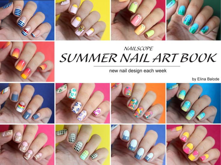 408 best nail art images on pinterest nail designs beautiful nailscope summer nail art book find how to make new nail design every week prinsesfo Image collections