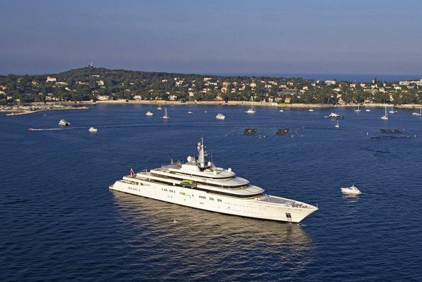 General View of Roman Abramovich's Yacht