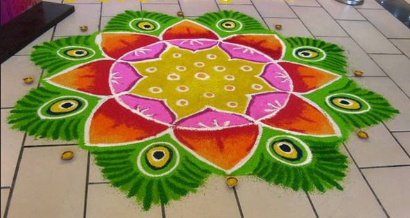 Diwali Rangoli Designs Images Pictures