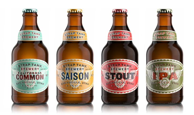 Strap Tank Brewery on Packaging of the World - Creative Package Design Gallery
