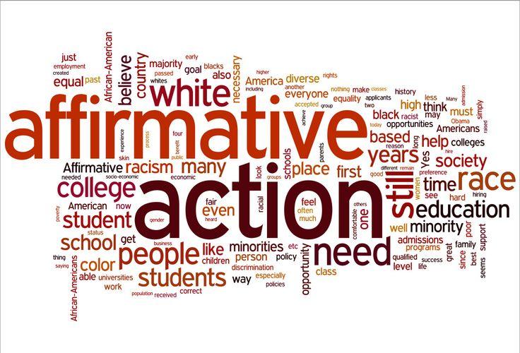 İnsanların kazandıkları tecrübeler, ölçü ile yapılan giysilere - affirmative action plan