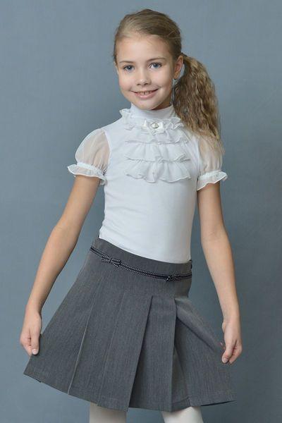 Школьная форма для девочек - блузки и юбки