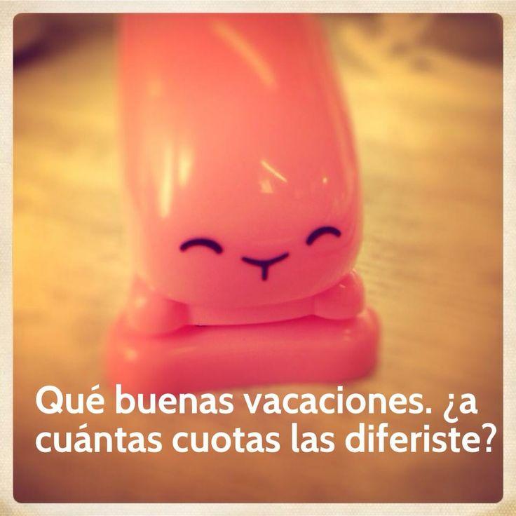 Vacaciones.