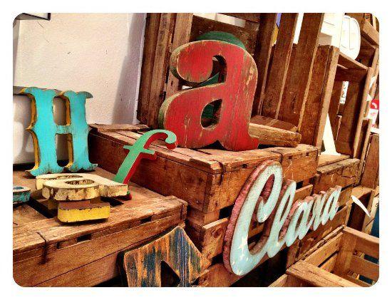 THE GROKSTORE: Letras decorativas y fotografía en Barcelona | DolceCity.com