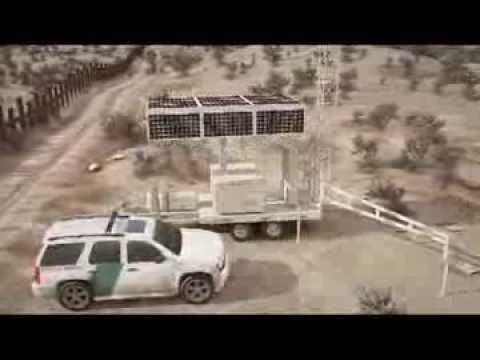 (82) Solar Mobile Tower for Border Security -001 - YouTube