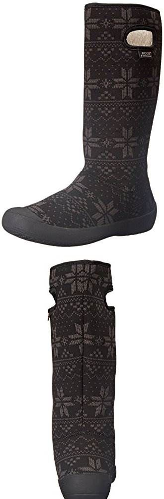 Try This:  Bogs Womens Summit Sweater Waterproof Insulated Boot #Shoes