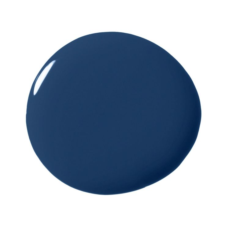Favorite Paint Colors for Kitchens. Benjamin Moore Downpour Blue 2063-20 I am loving the colored lower cabinetry trend. A deep glossy blue adds unexpected polish and pop, while still feeling classy and classic. A sure bet is Benjamin Moore Downpour Blue on the lower cabinetry paired with Benjamin Moore CO-17 White Dove on the upper cabinets.