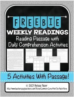 Close Reading Strategies Freebie