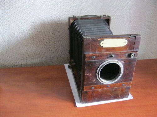 ANTIQUE-DALLMEYER-CAMERA-1876-ENGLAND-WITHOUT-LENS-FOR-COLLECTION