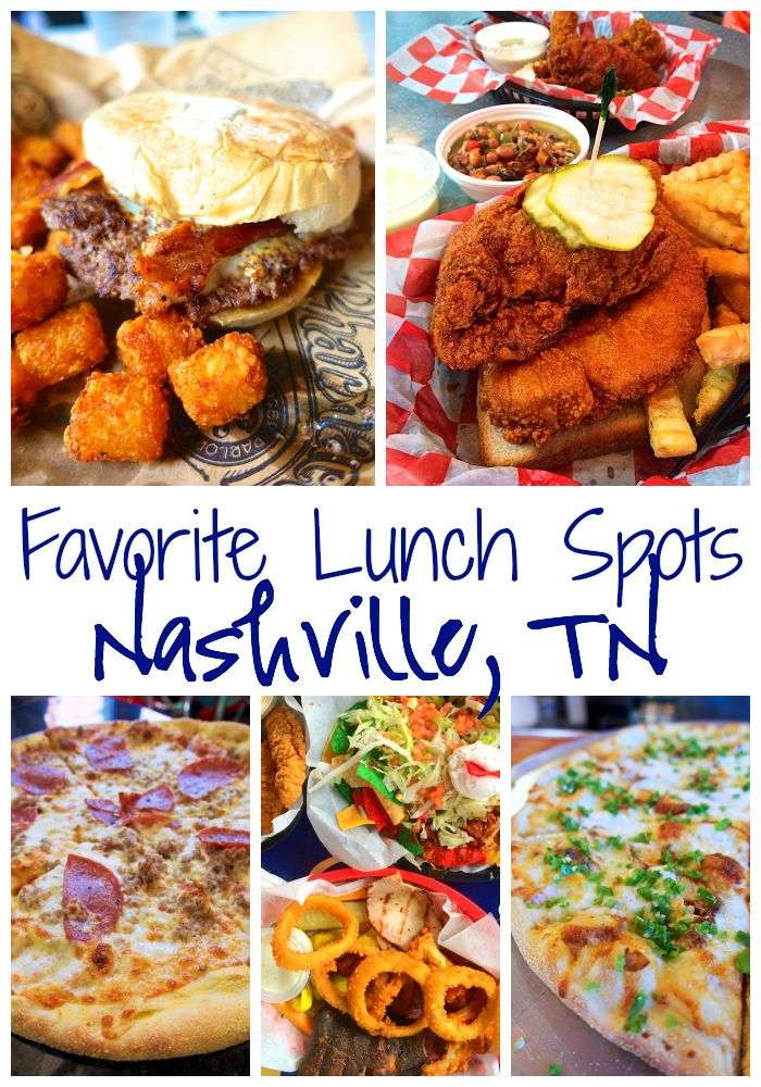Favorite Lunch Spots in Nashville, TN {Hattie B's Hot Chicken, The Pharmacy, Two Boots Pizza, Rippy's Bar & Grill }