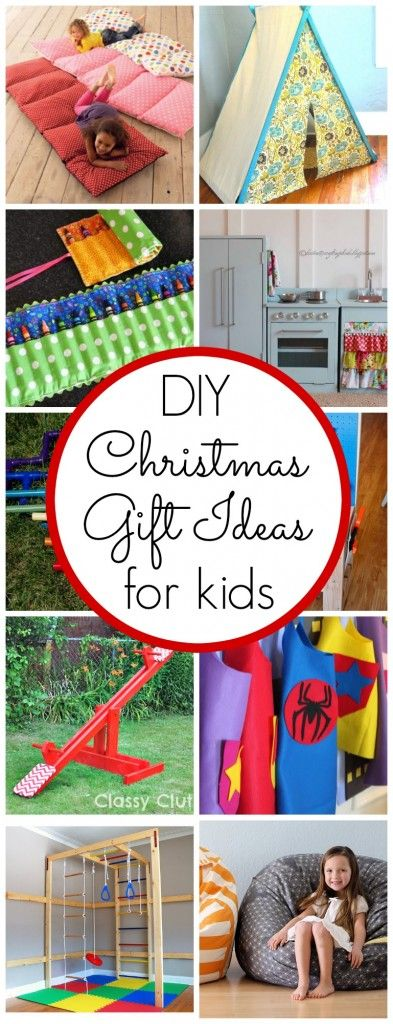 DIY Christmas Gifts for Kids - Click for ideas!