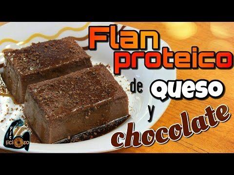 Flan Proteico de Chocolate y Queso – Fitlicioso