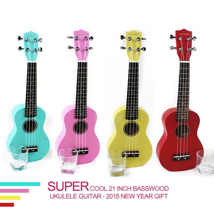 Cheap ukulele prices, Buy Quality ukulele pickup directly from China ukulele tuner Suppliers: Quality 21 inch colorful basswood Ukulele for novice Guitar learner Super cool new year gift for the Children