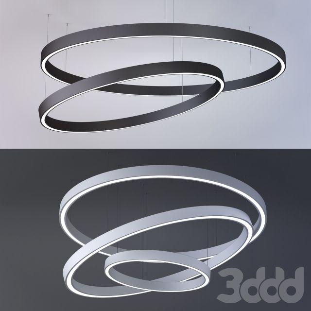 Светильники диодные X-CIRCULE