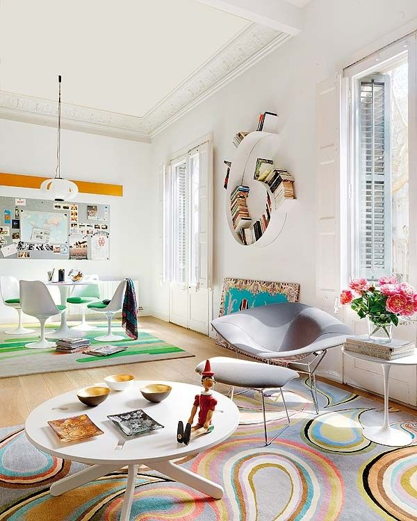 Gaudi Inspired Home Decor Kelli Ellis Colorful Apartment Funky Home Decor Colorful Interior Design