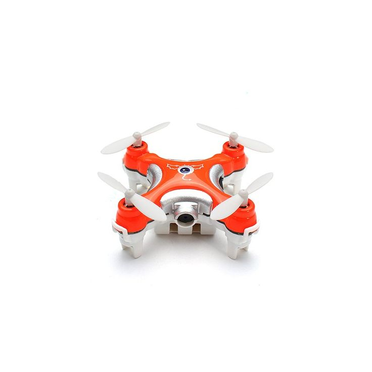 Cheerson CX-10C Nano Quadcopter (Orange) - With a wingspan of 30 mm, the Cheerson CX-10C Nano Quadcopter is one of the smallest drones available, as well one of the lightest drones you can buy, weighing in at 15 grams. It's lightweight and small build makes it the perfect quad-copter for beginners.