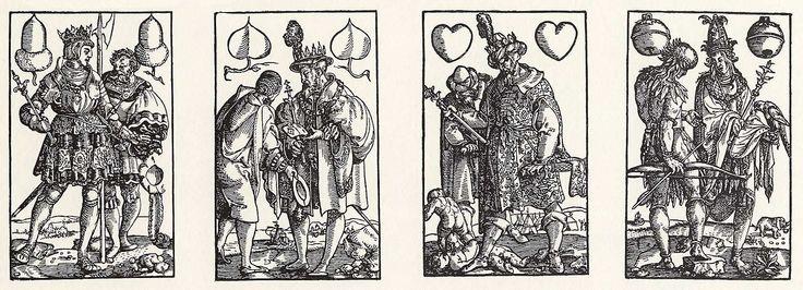 Artist: Flötner, Peter, Title: »Kartenspiel«, Könige, Date: ca. 1535