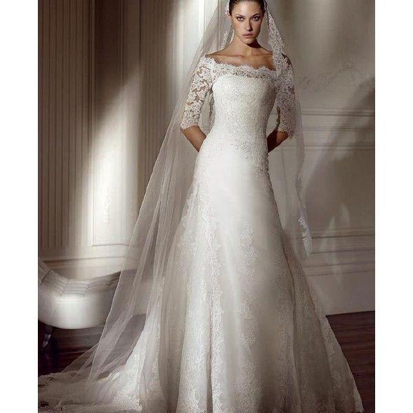 2011 Boat Neck Long Sleeve Wedding Dress Lace SC0568 Products Buy 2011 Boat Neck Long Sleeve