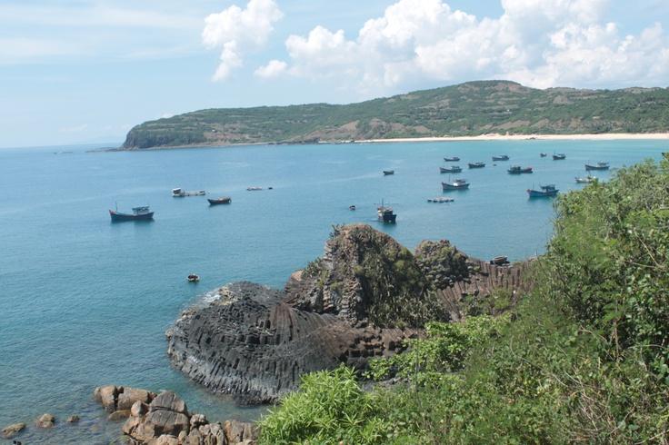 Gành Đá Dĩa - Phú Yên - VietNam:  Headland,  Foreland