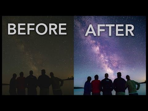 This Helpful Lightroom Tutorial Teaches You How to Create Stellar Shots of the Night Sky (VIDEO) | Shutterbug