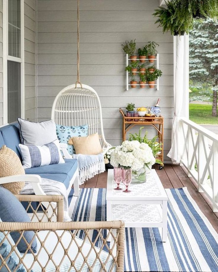 45 Most Popular Home Exterior Front Porch Decor and Design Ideas for Summer