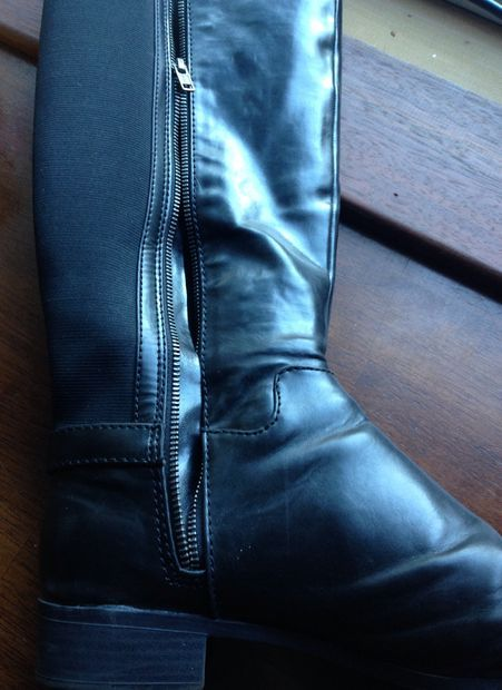 Fixing A Boot Zipper