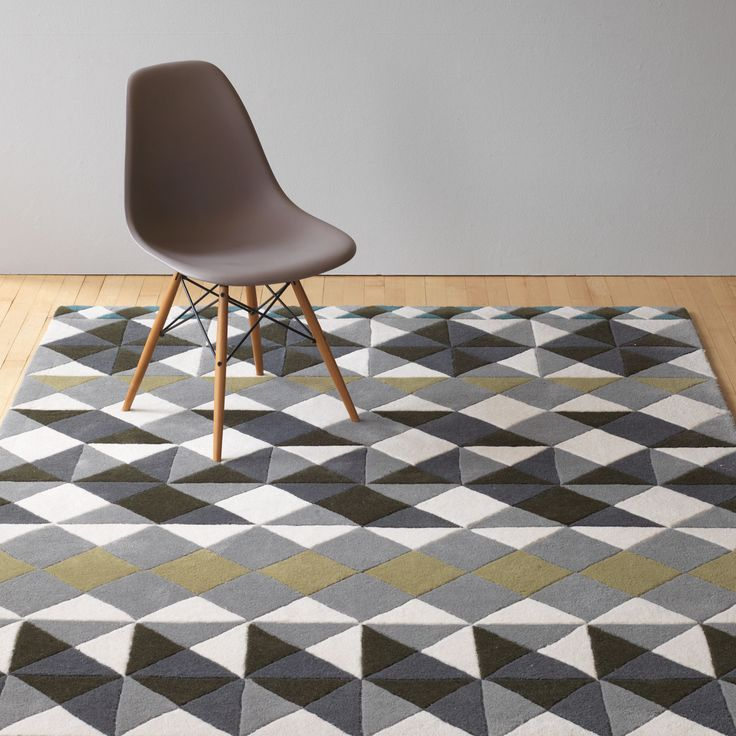 Gandia Blasco Mosaiek Grey Hand Tufted Rug by Javier Tortosa