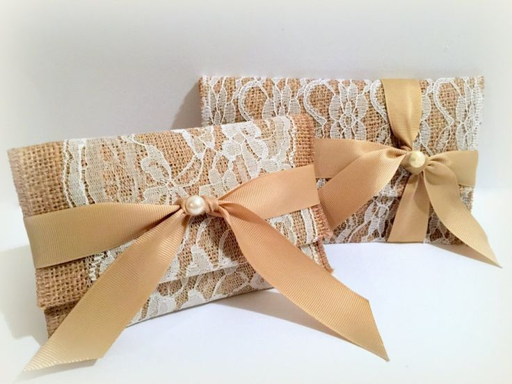 Rustic gift favor bag.Greek Wedding Bomboniere Favors.Wedding favor gift bags.Rustic wedding favor bag.Burlap favor bag.Burlap envelope. by RaniaCreations on Etsy