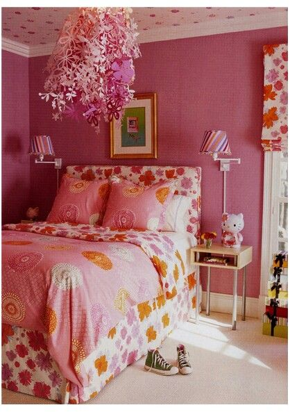 Girl bedroom #girlsbedroom