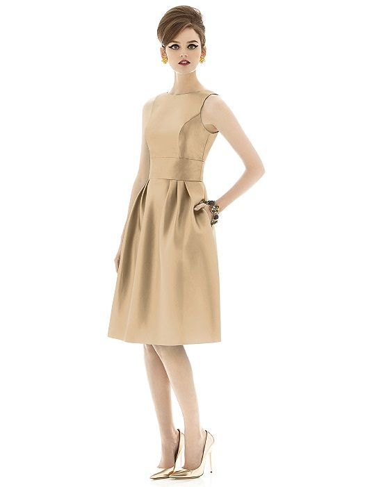 Alfred Sung Style D660 http://www.dessy.com/dresses/bridesmaid/d660/?color=palomino&colorid=63#.VMmbTy5e-uo