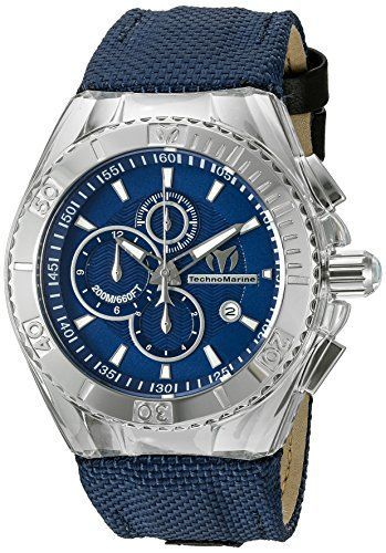 Just saw this on Amazon:   Technomarine Men's TM-115174 Cruise BlueRay... by TechnoMarine for $230.87