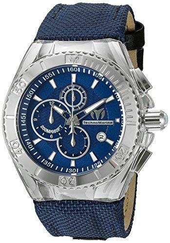 Just saw this on Amazon:   Technomarine Men's TM-115174 Cruise BlueRay... by TechnoMarine for $230.87