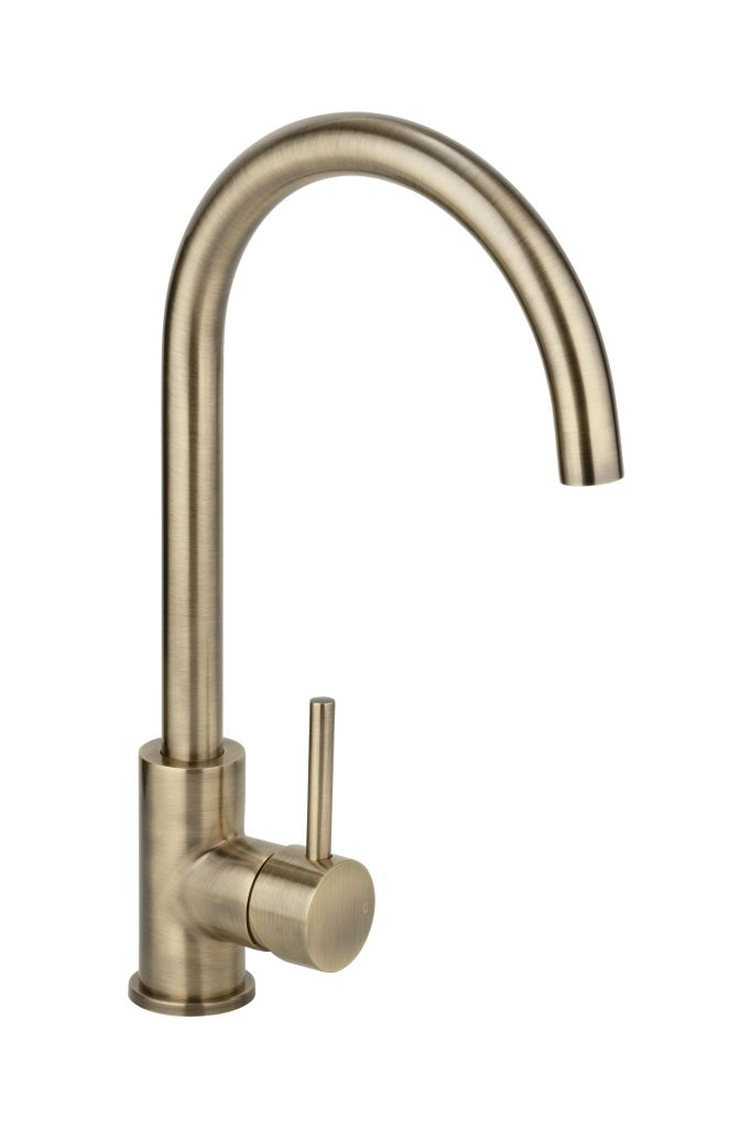 Brushed Burnished Brass Tapware Mixers Showers Sinks