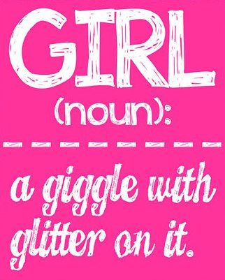 Girl Wall Art Girl Room Decor GIRL a giggle by LittleLifeDesigns, $8.00
